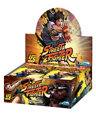 Jasco UFS Universal Fighting System Street Fighter Booster Box 24ct SEALED!!