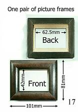 Small Picture Frames Two 101mm x 81mm, Unused Old Stock.