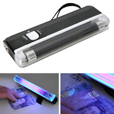 2in1 Portable Handheld UV Torch Light Blacklight Counterfeit Money Detector