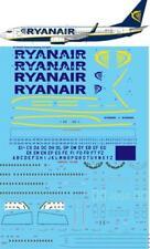 Twosix Silk Decals 1/144 Ryanair Boeing 737-800 # STS44297