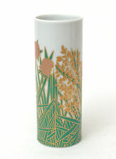 Rosenthal Studio Line floral Cilindro Florero por Wolf Bauer c.1979
