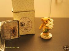 Cherished Teddies `GLENN  thank you beary much - white daisies  2002