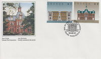 CANADA #1375-1376 ARCHITECTURE FIRST DAY COVER