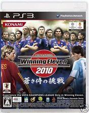 Used PS3 Winning Eleven 2010 SONY PLAYSTATION 3 JAPAN JAPANESE JAPONAIS IMPORT