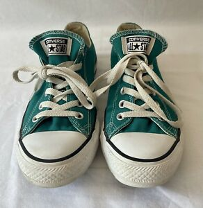 Converse Chuck Taylor All Star Teal, Size 9 Lightly Used