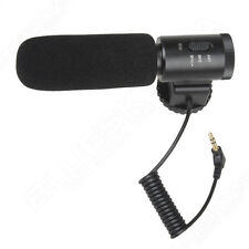 DV Stereo Microphone 3.5 jack for Canon Nikon Pentax Gopro HERO Camera Camcorder