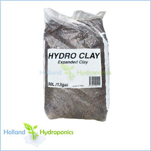 50 LITRE CLAY BALLS Hydro Expanded Clay Growing Medium For Hydroponics Systems