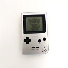 Refurbished Silver Nintendo Game Boy Pocket Game Console GBP + Game Card