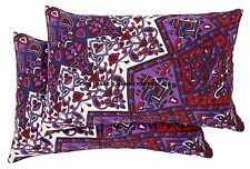 2 PC Star Mandala Tapestry Pillow Cover Indian Cushion Case Cotton Throw Hippie