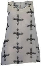 Locker sitzende Sheego Damenblusen, - tops & -shirts aus Chiffon