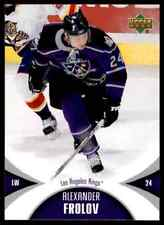 2006-07 Upper Deck Mini Jersey Collection Alexander Frolov #50