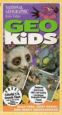 GEO KIDS - National Geographic Kids Video VHS - NTSC -NEW -Original USA release
