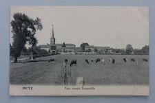 Metz-Pays messin Noisseville, cartolina per 1900