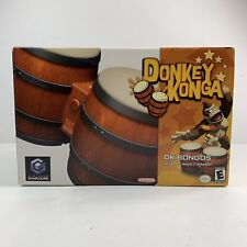 Nintendo Game Cube Donkey Kong Konga DK Bongo New Accessory Game System