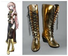 Vocaloid 2 Cv3 Megurine Luka Cosplay Costume Boots Boot Shoes Shoe UK