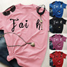 Womens Summer Cross Jesus Faith T-Shirts Casual Tops Christian Shirts Blouse