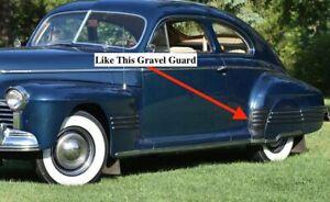 NOS PONTIAC 1941 MODEL 25 TORPEDO GRAVEL GUARD DRIVER SIDE  9