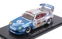 Model Car Scale 1:43 Spark Model Porsche 911 GT2 N.74 10th Lm A. Ahrle