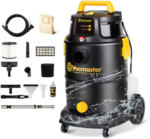 Vacmaster Wet Dry Shampoo Vacuum Cleaner 3 in 1 Portable Carpet Cleaner 8 Gallon