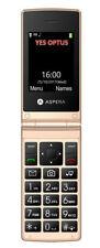 Aspera F24 Seniors Big Button Elders Flip Mobile Phone 3g NextG Unlocked