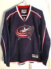 Reebok Women's Premier NHL Jersey Columbus Blue Jackets Team Navy sz L