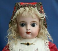 Antique Bebe Eden Paris Doll 1880s Closed Mouth Wonderful Doll Top Condition