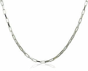 "S.Michael Designs Large Box Chain Necklace - 22"" Inch"