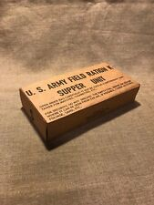WWII US Army Marine Corps K-Ration early war Supper Ration unit