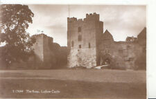 Shropshire Postcard - The Keep - Ludlow Castle - Real Photograph - Ref ZZ5460