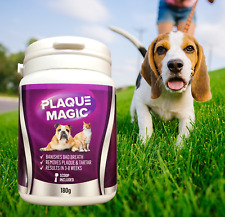 PLAQUE MAGIC 180g Plaque Off For Dogs & Cats Removes Plaque, Tartar & Bad Breath