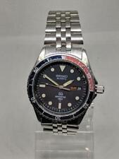 Seiko 5Y23 6060 SQ Sports 150 Vintage Slim Dive Watch Quartz Pepsi Original