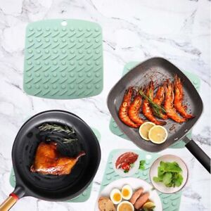 Silicone Pot Holders Silicone Trivet Silicone Hot Pads for Kitchen Heat Non Slip