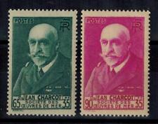 (a17) timbres France n° 377/377A neufs** année 1938