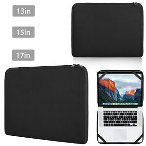"Laptop Sleeve Bag Notebook Case Cover For 13"" 15"" 17"" Mac HP Dell Lenovo Acer"