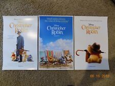 "Christopher Robin (11"" x 17"") Movie Collector's Poster Prints (Set of 3)"