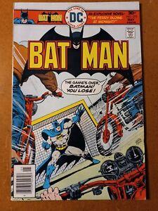 BATMAN #275 (1976), Underworld Olympics Issue, Bronze Age DC Comic Book, Sharp!