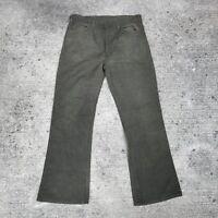 Vintage Levis Big E Sta-prest Pant 34 30 Army Green Talon 42