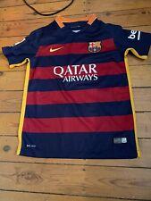 Barcelona FC shirt Age 10-12