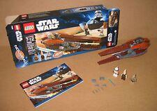 7959 LEGO Star Wars Geonosian Starfighter 100% Complete Box Manual EX COND 2011