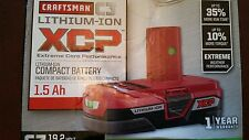 Craftsman C3 19.2V XCP 1.5Ah Compact Li-Ion Battery 35707