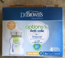 Dr Browns Natural Flow Anti-colic Bottles, 3 Pack 5 oz