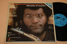 ANTHONY BRAXTON LP ELEMENTS OF SURPRISE TOP JAZZ 1°ST ORIG 1976 EX !