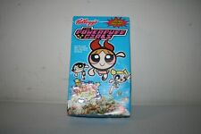 Unopened Limited Edition Powerpuff Girls Kellogg's Cereal Box, Fizzy Cereal 2000