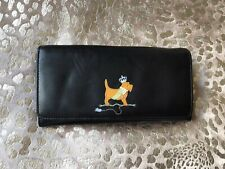 Radley Black Leather Large Purse Very Good Condition