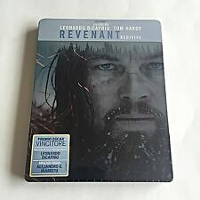 The Revenant Blu-ray Steelbook [Italy] Region Free! RARE! OOS/OOP! SOLD OUT! NEW