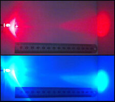 Alternate Red-Blue Flashing 5mm 12V Wired LED