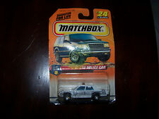 1997 MATCHBOX LTD POLICE CAR #24, SHERIFF, SERIES 4, TO THE RESCUE
