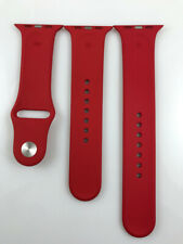 Original Apple Watch Series 5 4 3 2 1 Sport Band 42mm 44mm Silver Pin strap Red