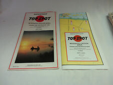 Top Spot Waterproof Mosquito Lagoon Fishing and Recreation Map N219 Preowned