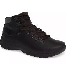 Timberland Mens World Black Hiking Boots Size 9